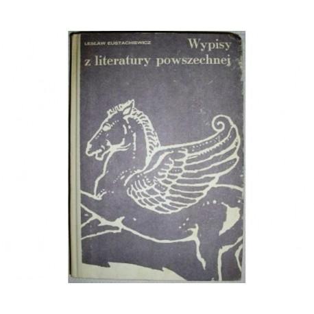 WYPISY Z LITERATURY POWSZECHNEJ