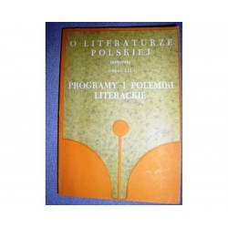 PROGRAMY I POLEMIKI LITERACKIE