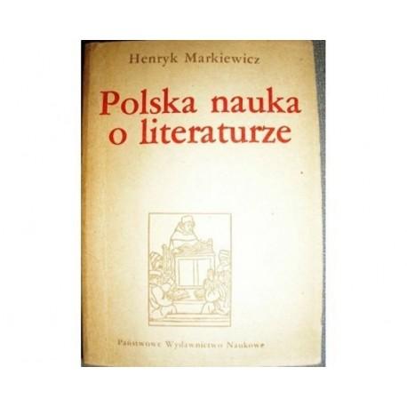 POLSKA NAUKA O LITERATURZE