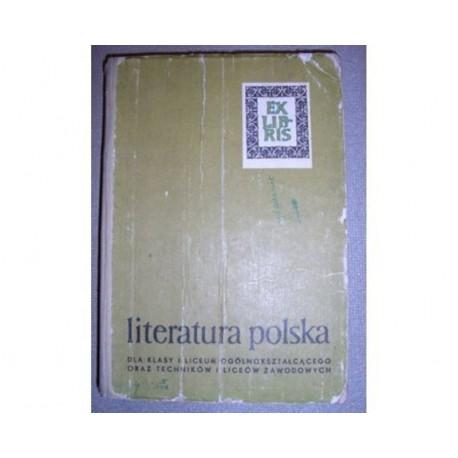 LITERATURA POLSKA DO POCZĄTKU XIX WIEKU