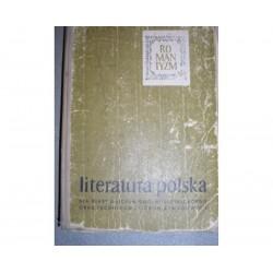 S. JERSCHINA, Z. LIBERA, E. SAWRYMOWICZ LITERATURA OKRESU ROMANTYZMU