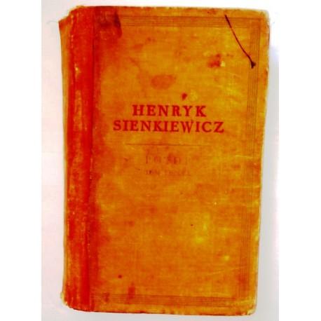 HENRYK SIENKIEWICZ POTOP TOM III